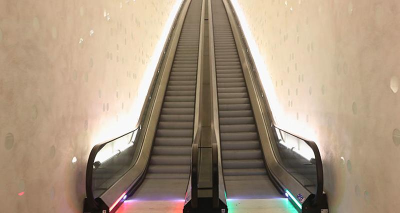 Why You Should Always Walk On Escalators