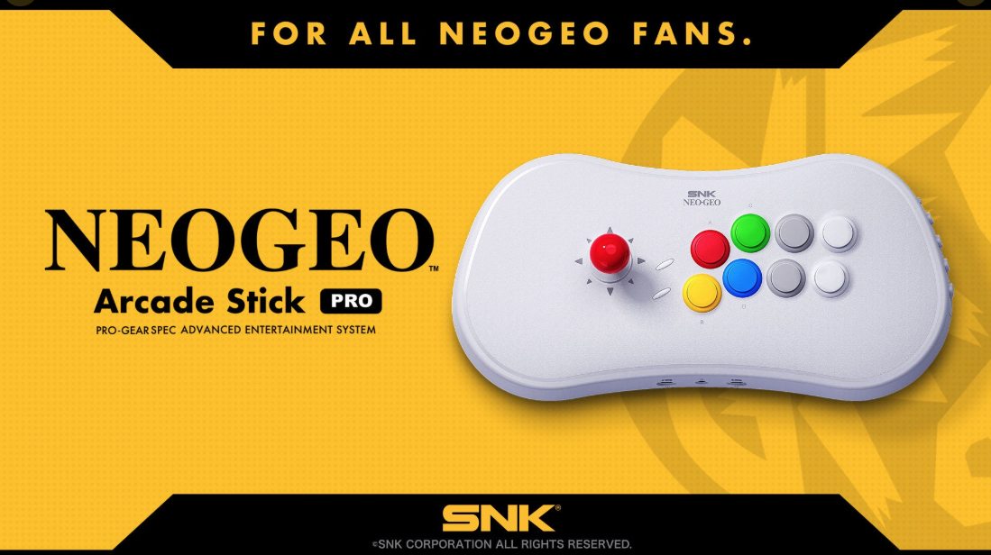 That's A Nice-Looking Arcade Stick, SNK