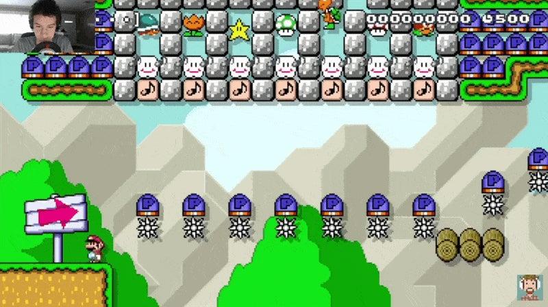 A Rare Mario Maker Super Expert Level That Is Not Trash