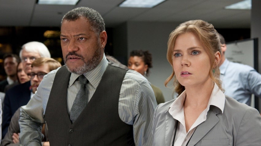 Even DC Actor Laurence Fishburne Knows Marvel Is Kicking DC's Arse