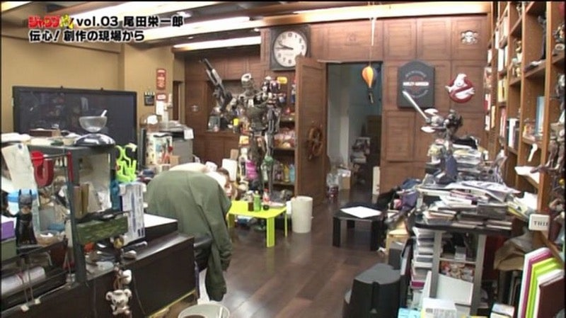 The Messy Workspaces of Famous Manga Artists