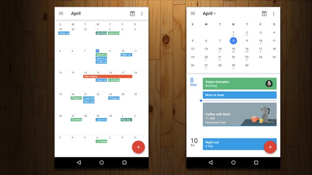 Google Calendar Brings Back, Improves Month View on Mobile