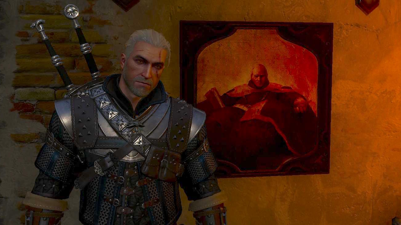 The First Thing Geralt Of Rivia Did In His New House   Kotaku Australia