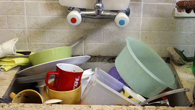 Tackle Dirty Dishes in Small Sessions with the