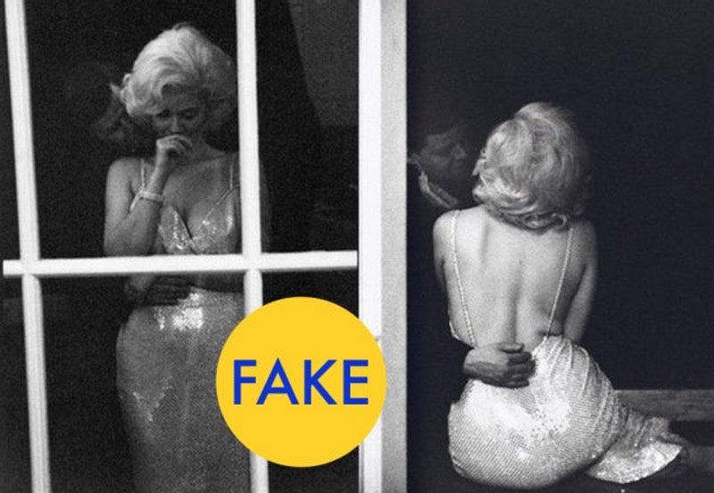 7 Viral Photos of Marilyn Monroe That Are Totally Fake (NSFW)