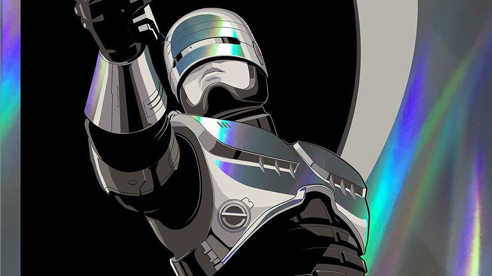 RoboCop Literally Shines In Craig Drake's Latest Mysterious Art Show