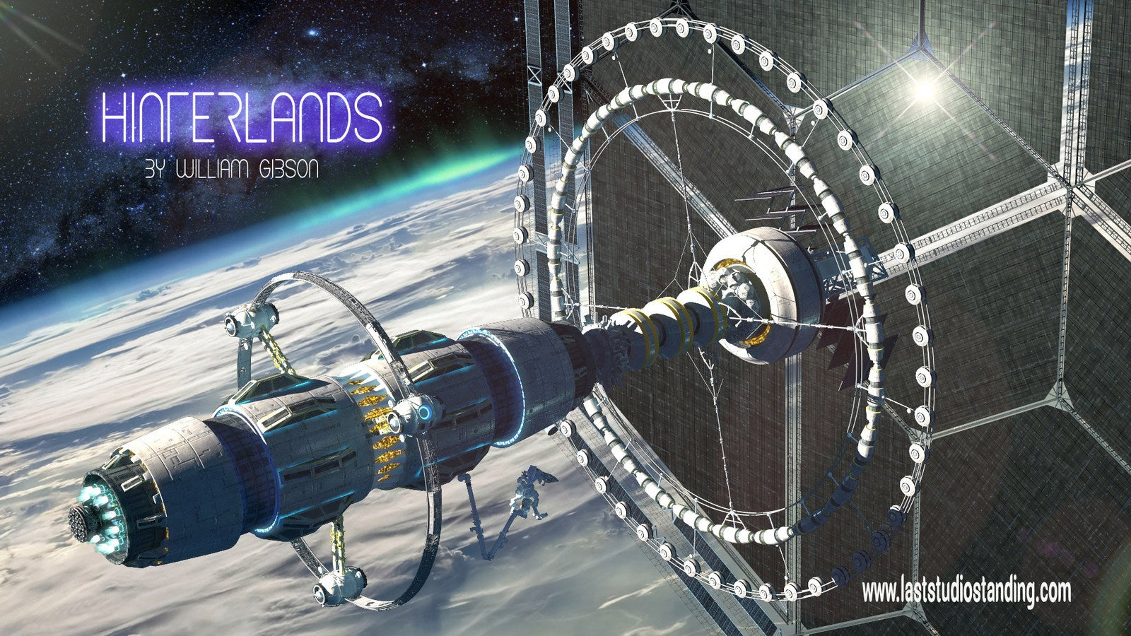 William Gibson's 'Hinterlands' Is Becoming A Multimedia Animated Franchise