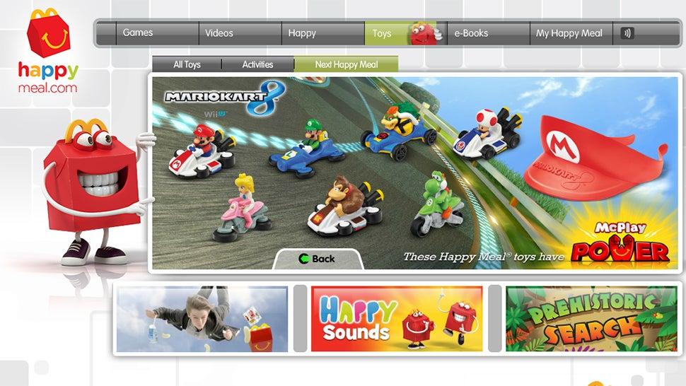 Get Salty Mario Kart 8 Figures In Your Next Happy Meal
