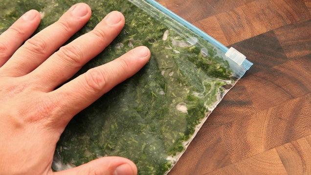 Why Freezing Herbs Flat Is the Best Way to Store Them