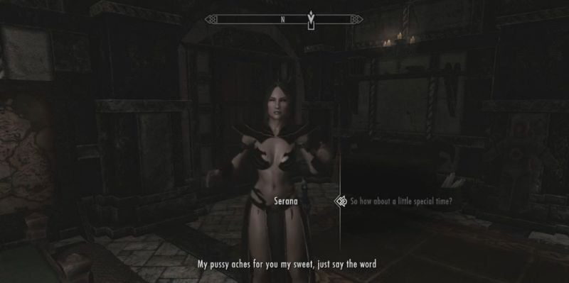 Fuck serena hard skyrim think