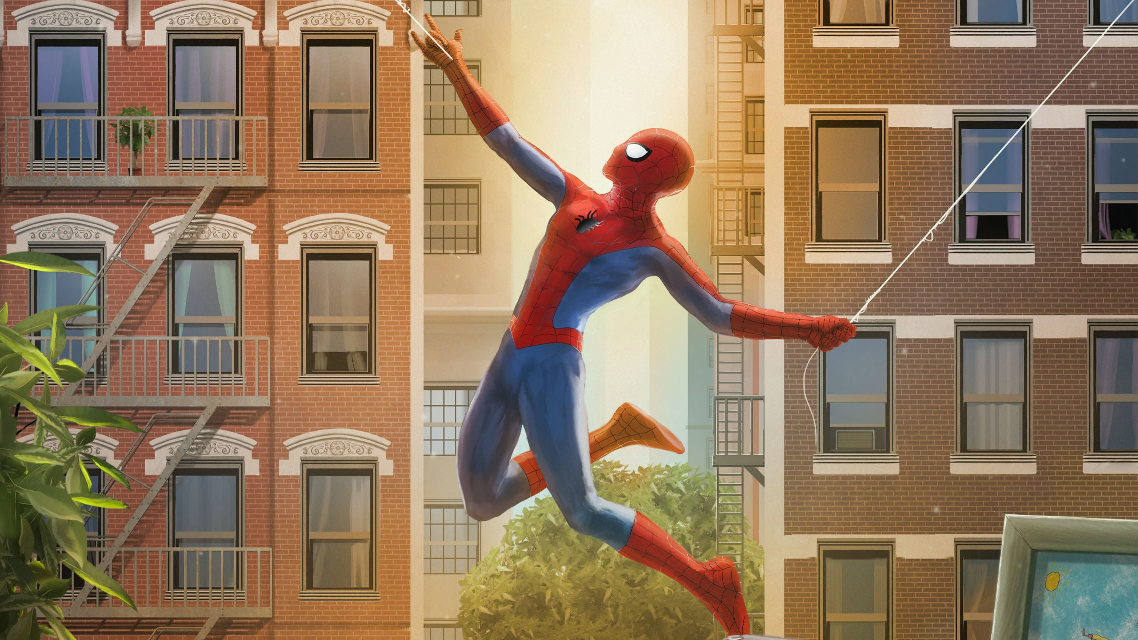 Spider-Man Is Always Outside Your Window With This New Poster