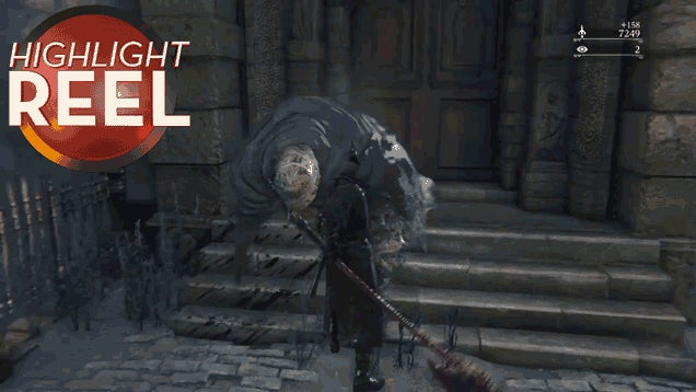 Bloodborne Monster Is Sad You Killed Him