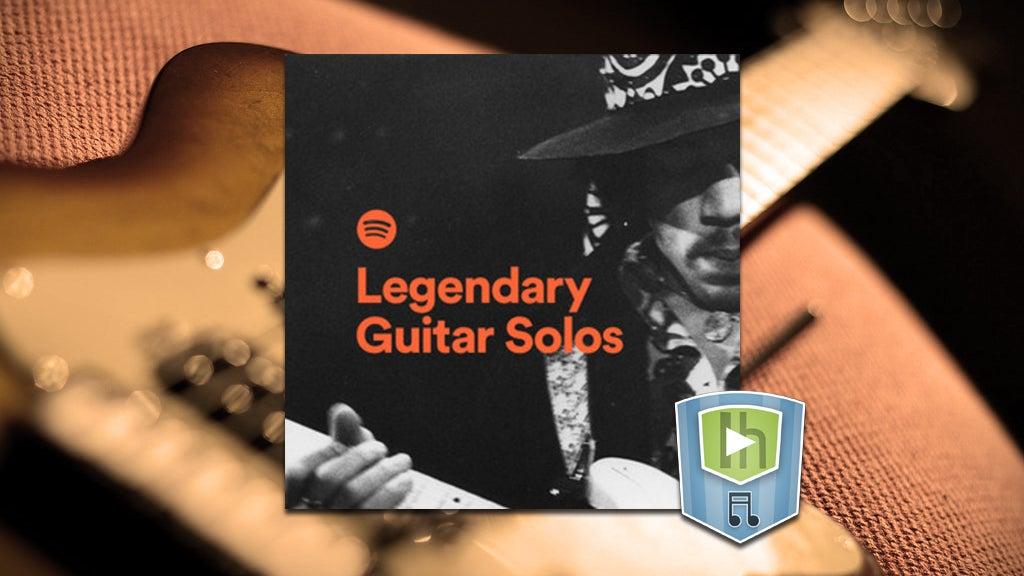 The Legendary Guitar Solos Playlist