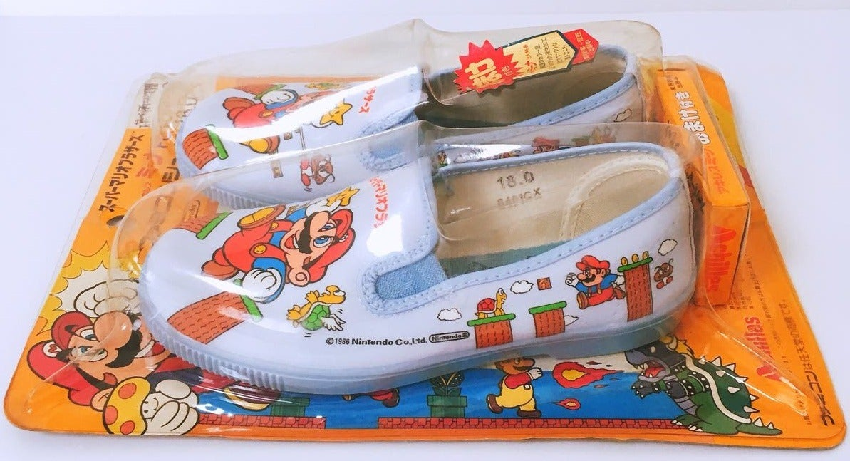 Deadstock 1986 Super Mario Bros. Slippers Are A Modern Masterpiece