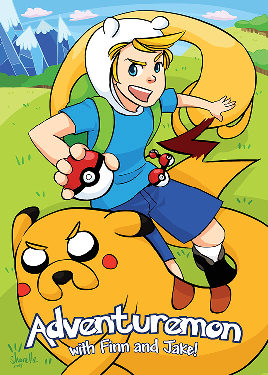 If Adventure Time Characters Were Pokémon Trainers