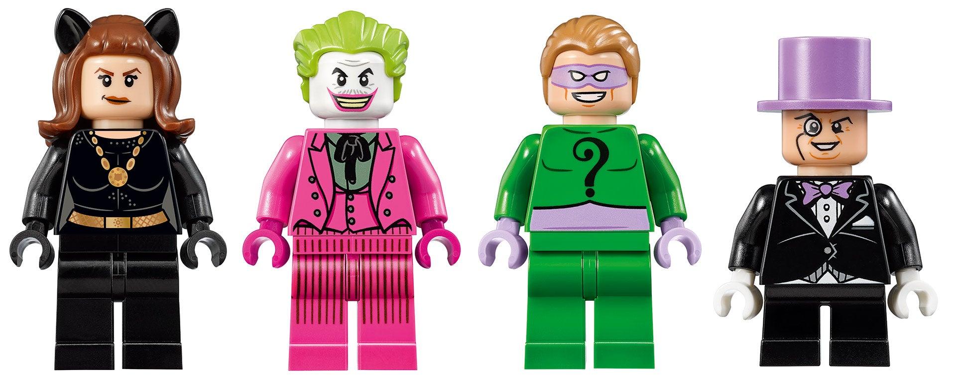 The LEGO Classic TV Series Batcave Has All The '60s Batman