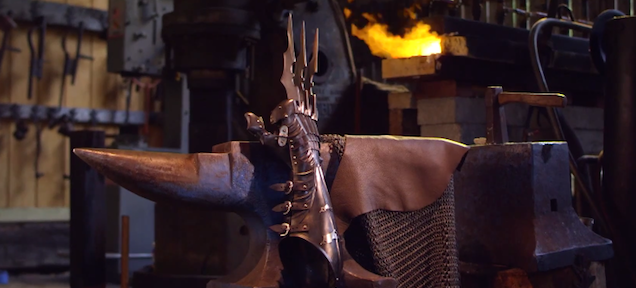 These badass Wolverine claws would be perfect for Batman's armour