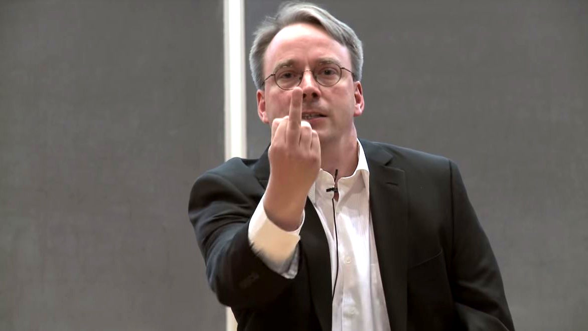 Linux Founder Takes Some Time Off To Learn How To Stop Being An Arsehole