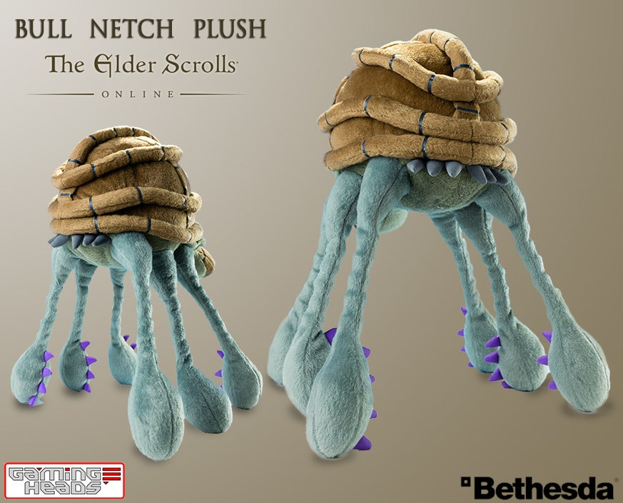 Elder Scrolls Plush is Not Poisonous, Just Cute