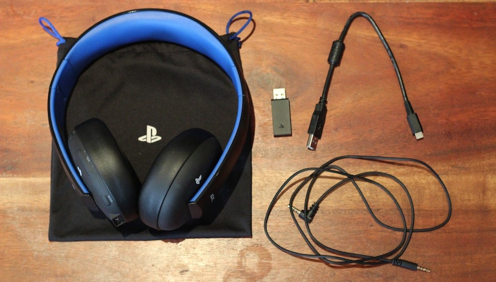 The PlayStation Gold Wireless Headset: Not Bad For A Hundred Bucks