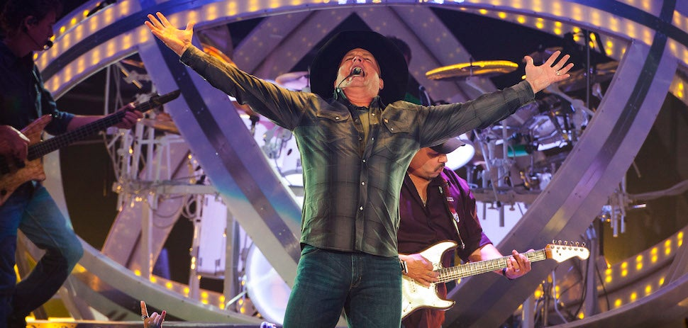 Garth Brooks Launches iTunes Competitor