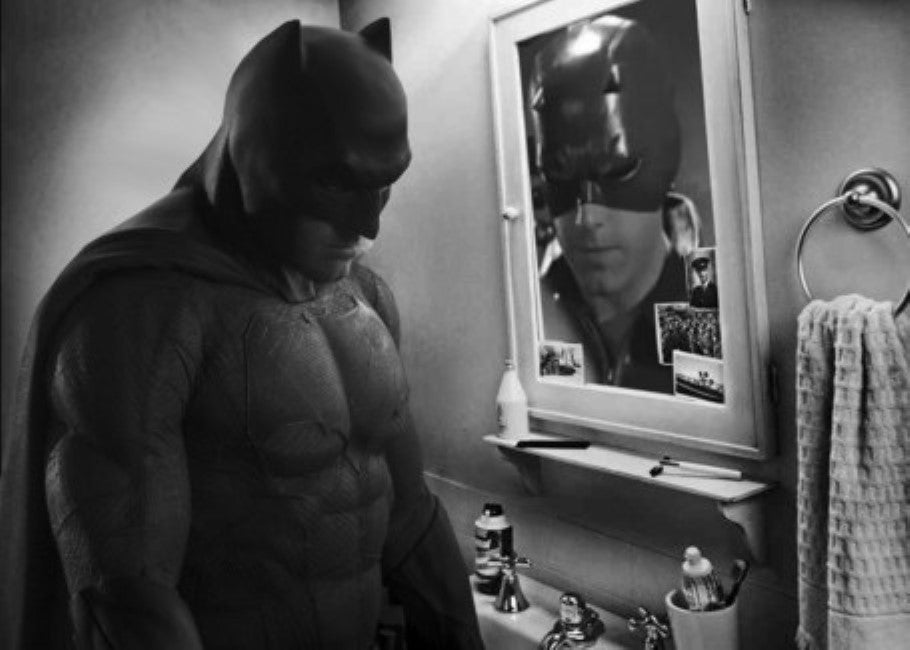 The New Batman Sure Looks Sad