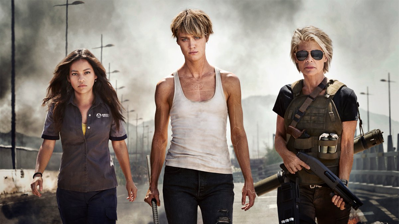 Sarah Connor Makes The Most Badarse Return In The First Official Image From Terminator