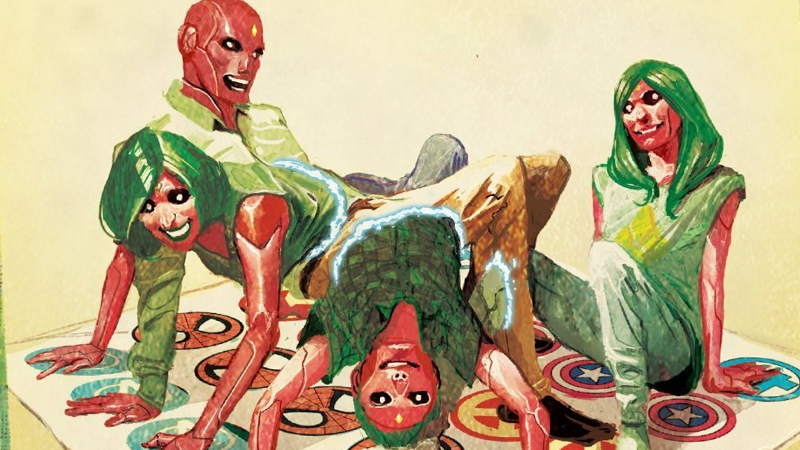 The Vision, 2016's Best Comic, Is Getting A Director's Cut Edition