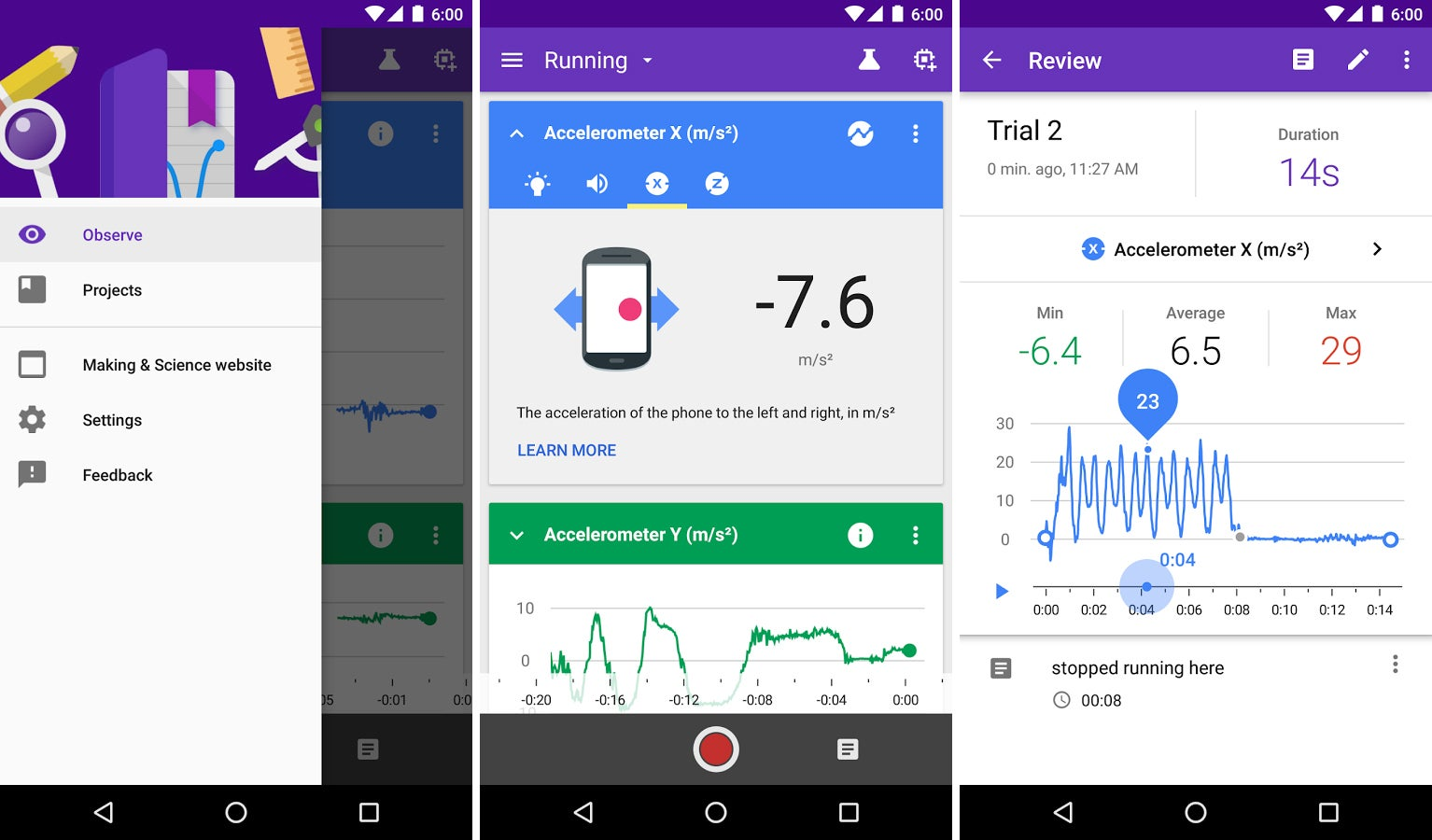 Google's New Science Journal App Turns Your Android Phone Into a Lab Full of Sensors