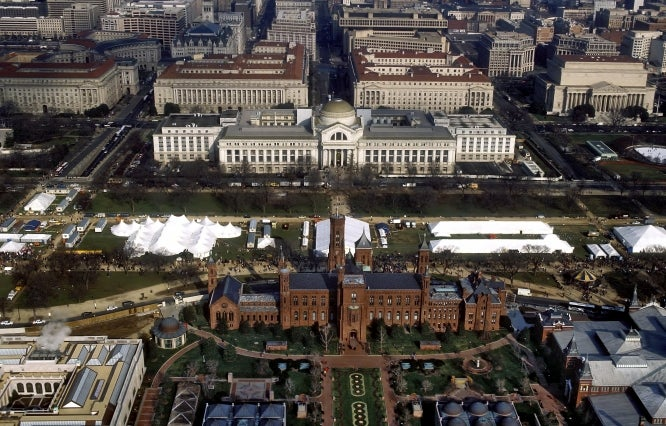 The Smithsonian's Fantastic Plan to Transform the National Mall