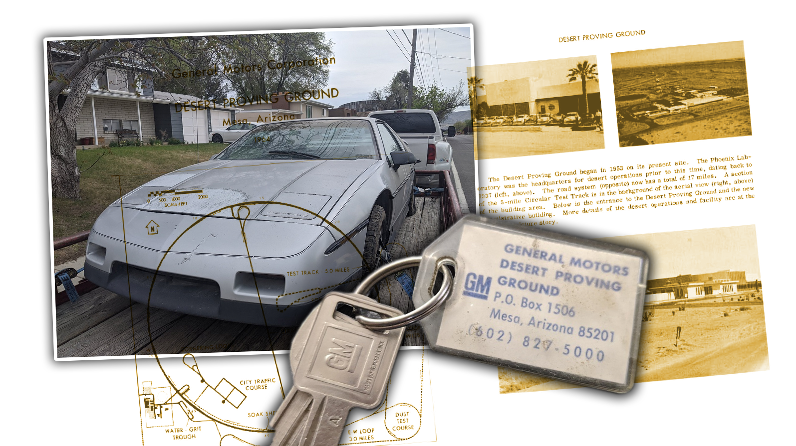This $600 Junkyard Pontiac Fiero Was Once Used At GM's Desert Proving Ground And I'm Obsessed