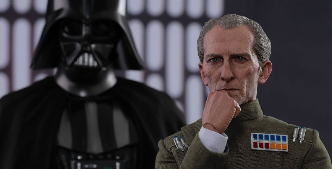 Grand Moff Tarkin Toy Looks Better Than The Rogue One Version