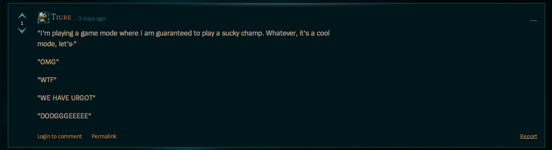 New League of Legends Mode Lets You Be A Jerk, Goes Predictably Awry