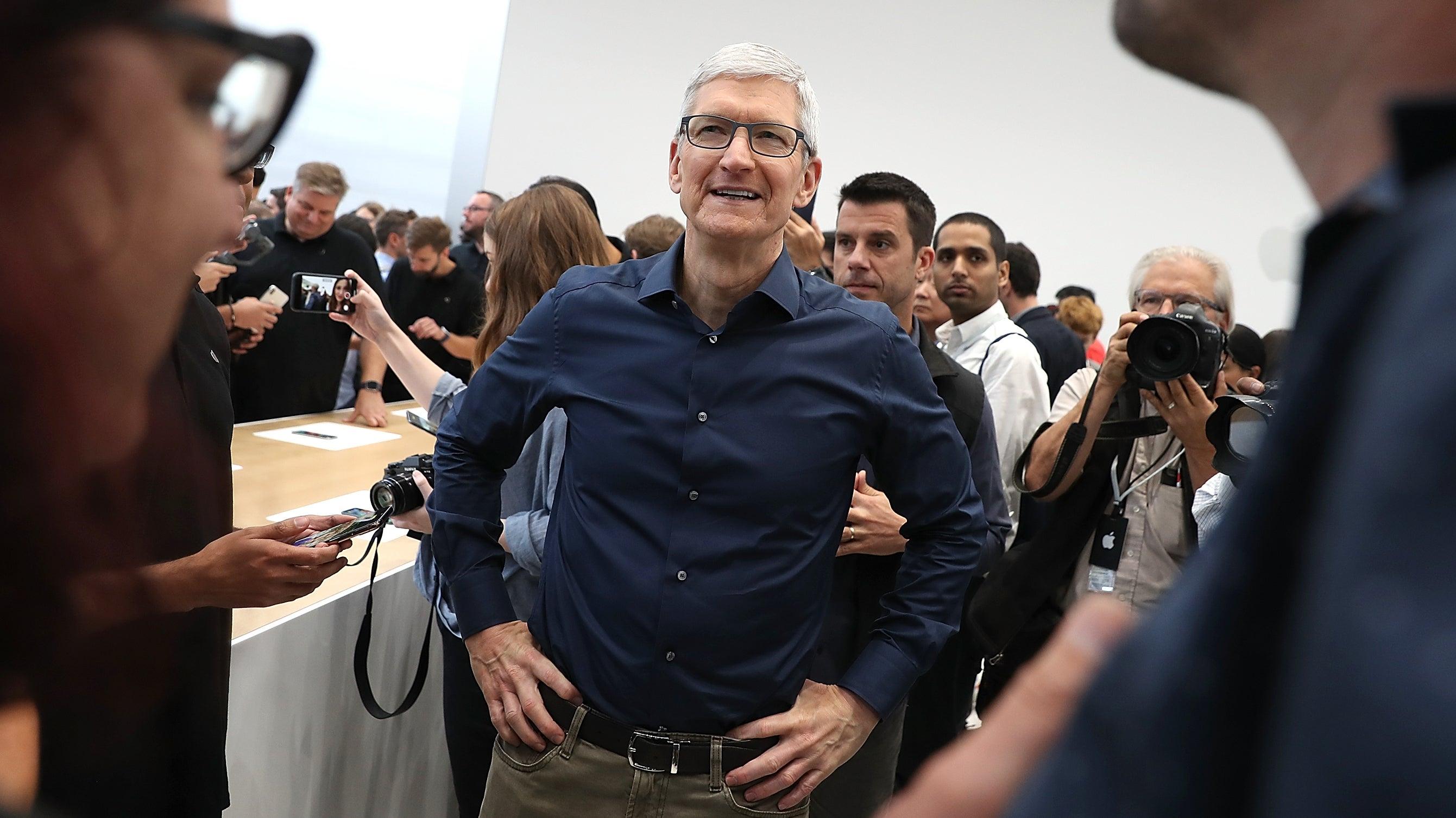 Tim Cook On Why Apple Banned Alex Jones: He Sucks