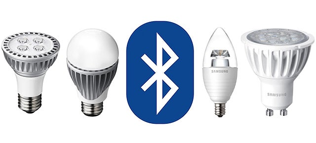 Samsung's Bluetooth-Controlled LED Bulbs Create Their Own Wireless Network