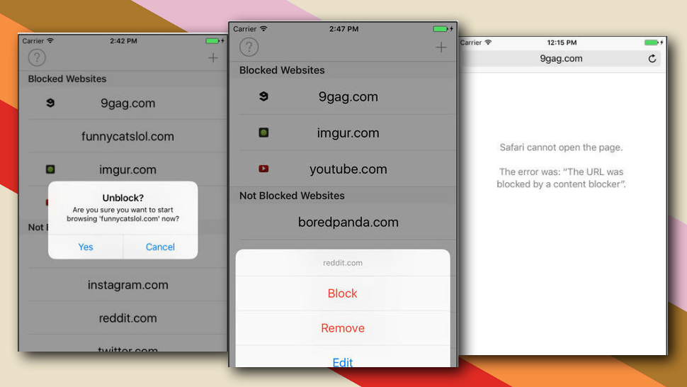 Self Control, The Brute-Force Distraction Blocker, Lands On The iPhone