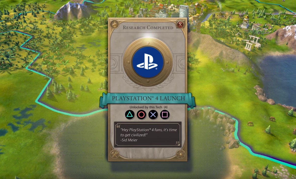 Civilization VI On PS4 And Xbox One Works, It's Fine