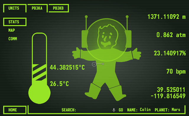 A Fully Functional Fallout Pip-Boy For Astronauts
