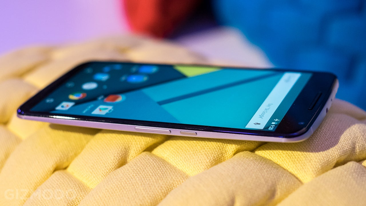 Nexus 6 Hands On: So Big, So Beautiful