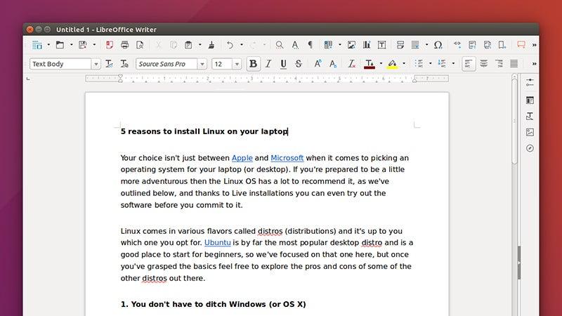 5 Reasons To Install Linux On Your Laptop | Gizmodo Australia