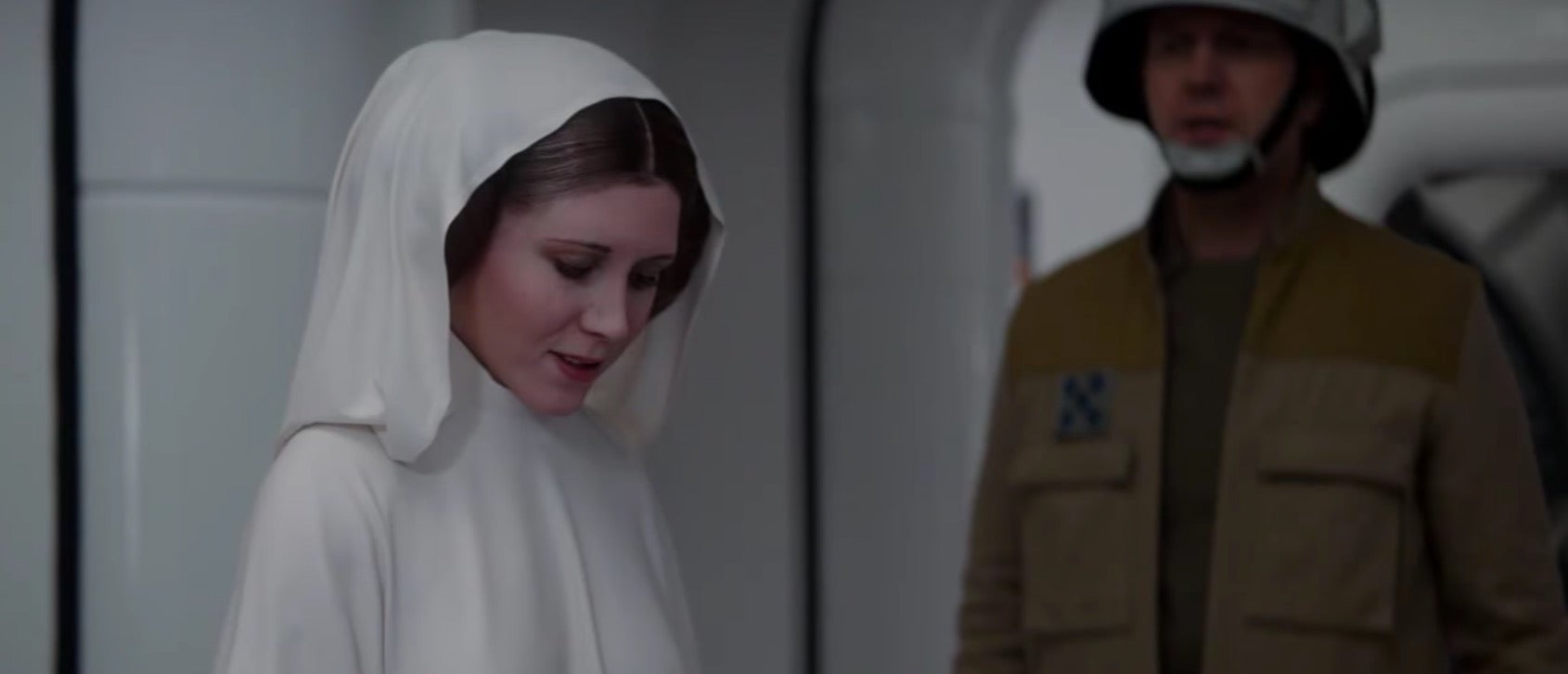 Watch How ILM Brought Back Tarkin And Leia For Rogue One
