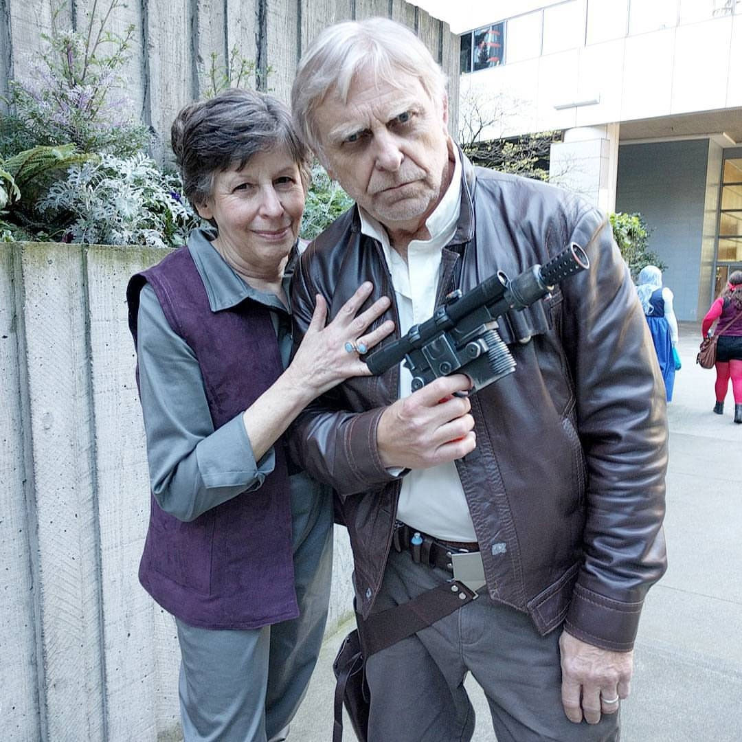 Old Han & Leia Cosplay Is The Best