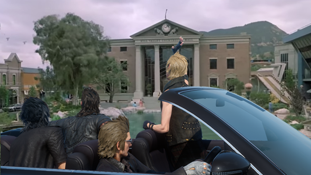 How Final Fantasy XV Is Influenced by Back to the Future: Part II
