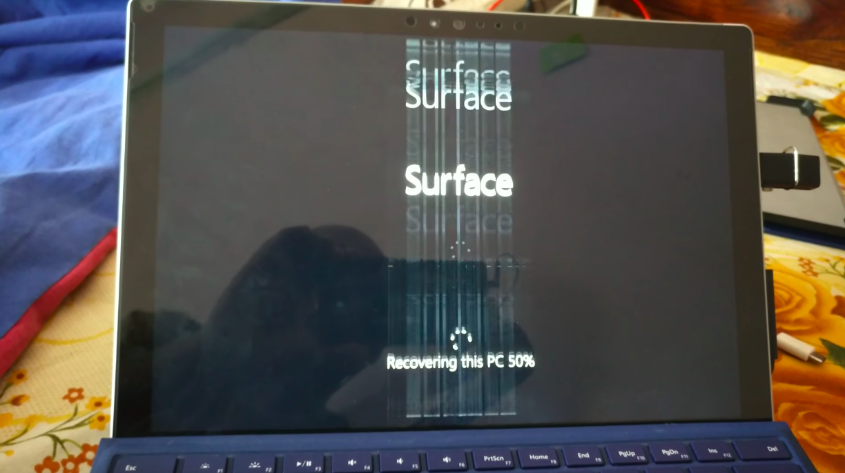 Please Don't Freeze Your Surface Pro 4 to Fix The Flickering Screen