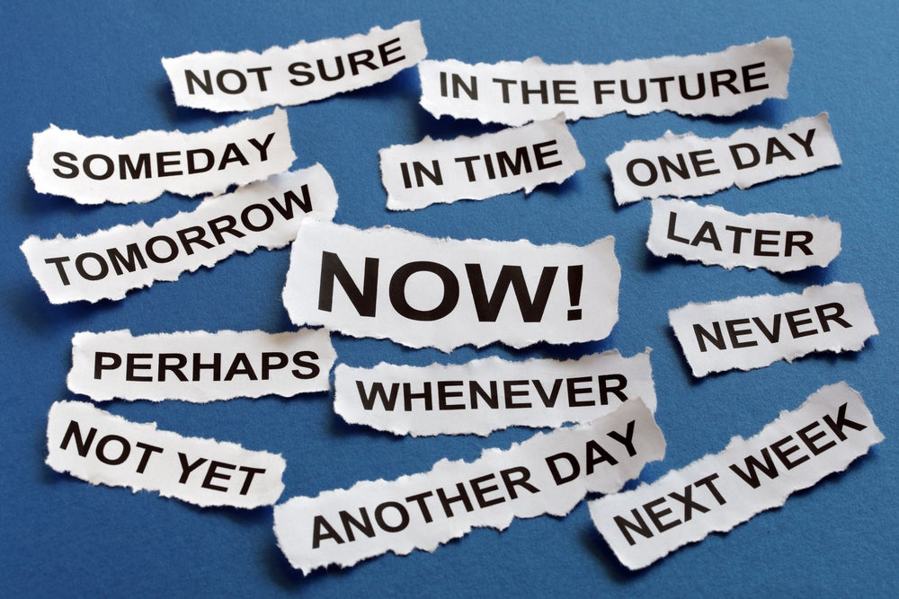 The Secret To Overcoming Procrastination: It's Not About Willpower