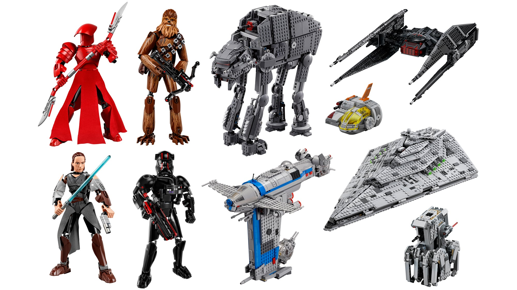 All The Glorious New Star Wars The Last Jedi Toys Revealed For