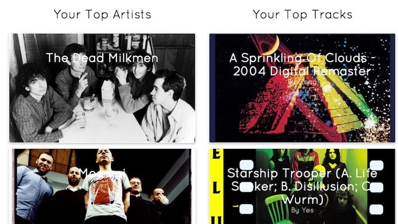 Visualify Shows Off Your Spotify Listening Habits, Tracks Top Songs And Artists