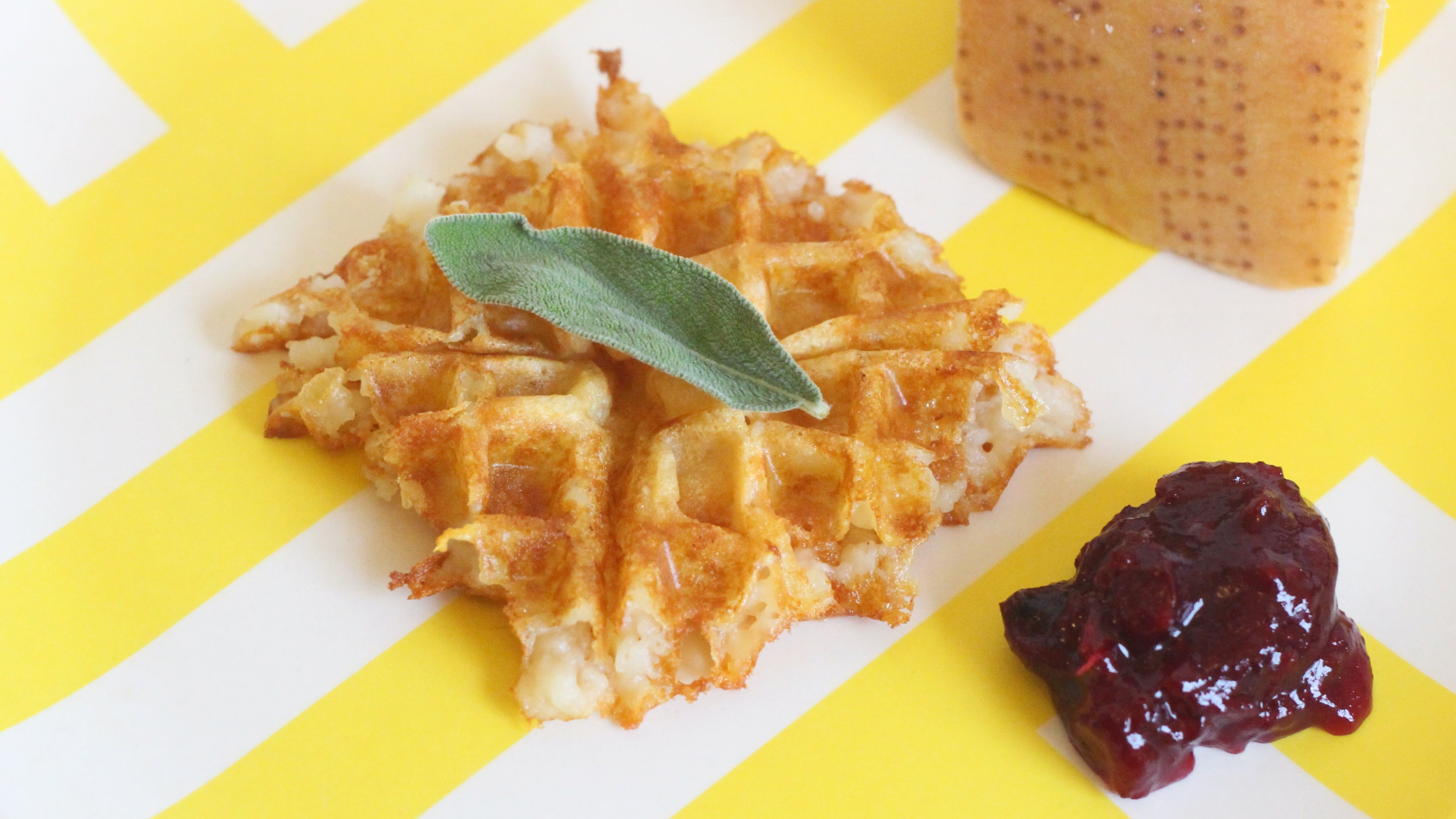 Make These Parm-Crusted Waffles With Leftover Mashed Potatoes