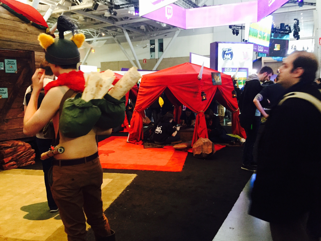 Tour The PAX East Monster Hunter Caravan