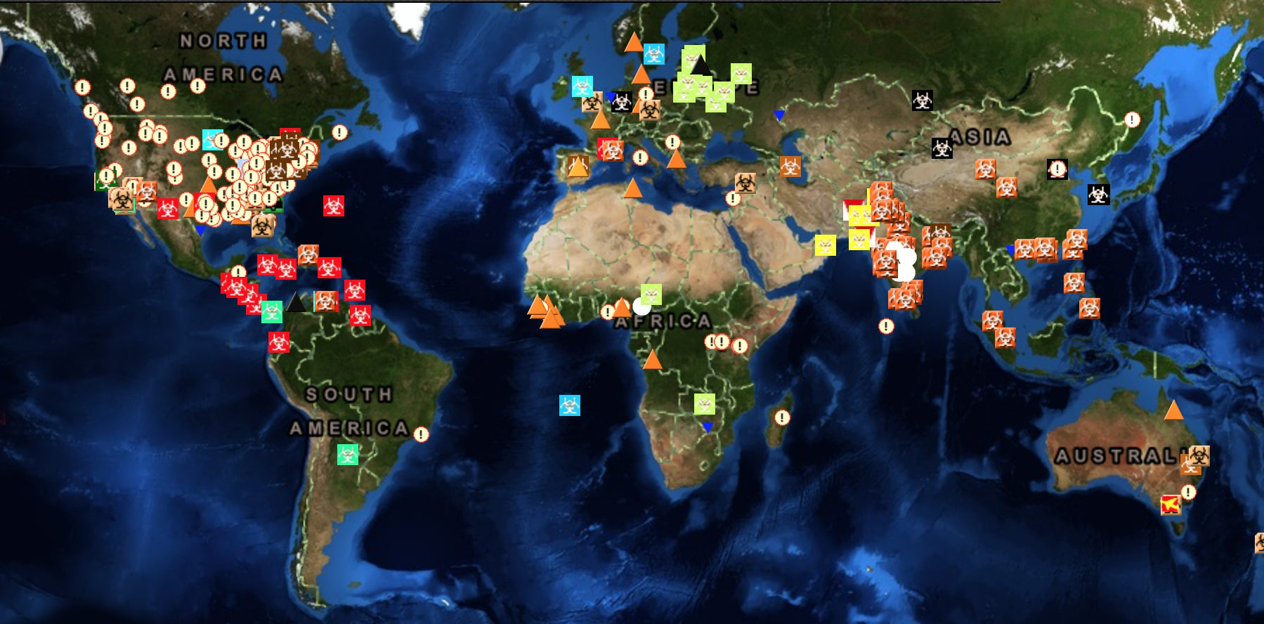 Global incident maps tell you how screwed the world is in real time